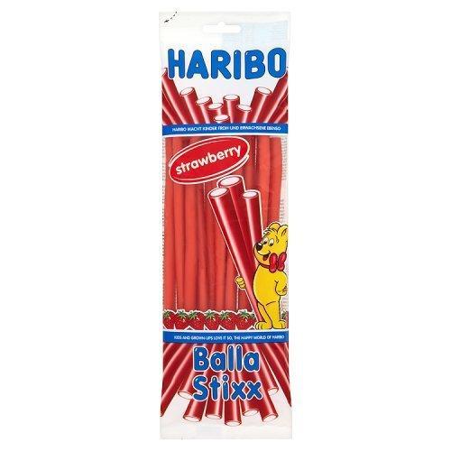 Жевательные конфеты Haribo Balla Stixx Strawberry клубника Германия 80 г
