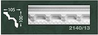 Плинтус потолочный с орнаментом из пенопласта 2140/13 Baraka Dekor 100х105
