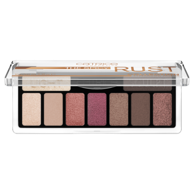 Палетка теней для век Catrice The Spicy Rust Collection Eyeshadow Palette