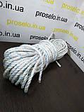 Канат поліпропіленовий. Плетений. Ø 10мм. Довжина 50м, фото 6