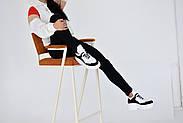 Черно-белые кожаные кроссовки VIFEST, фото 2