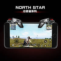 Триггеры для телефона (для PUBG Mobile) North Star S8 Black, фото 4