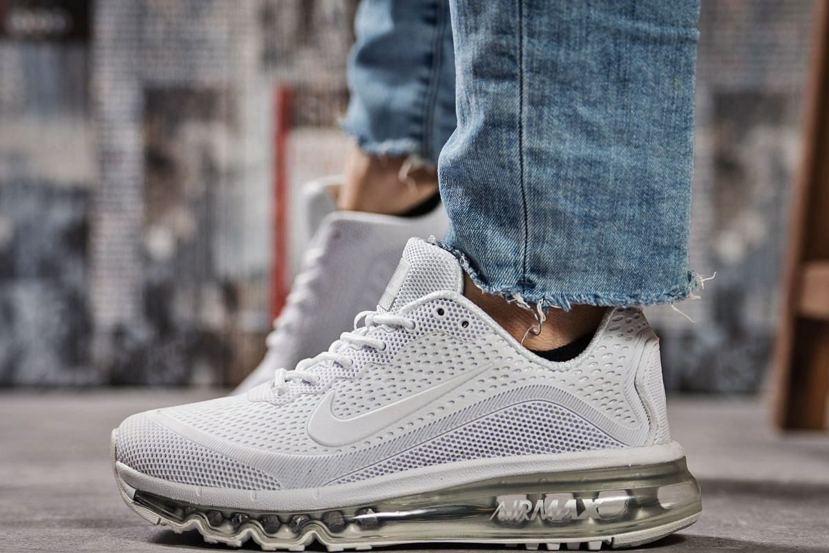 Кроссовки женские Nike Air Max, белые (15503) размеры в наличии ►(нет на складе)