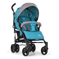 Детская прогулочная коляска Голубая 2+ (ME 1013L Turquoise)