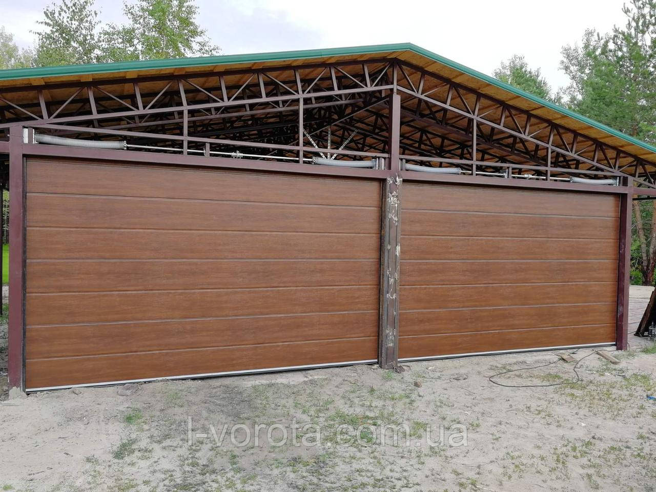 Секционные гаражные ворота DoorHan ш4000мм, в2300мм