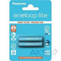 Элемент питания Panasonic Eneloop Lite AAA 550 2BP (BK-4LCCE/2BE)