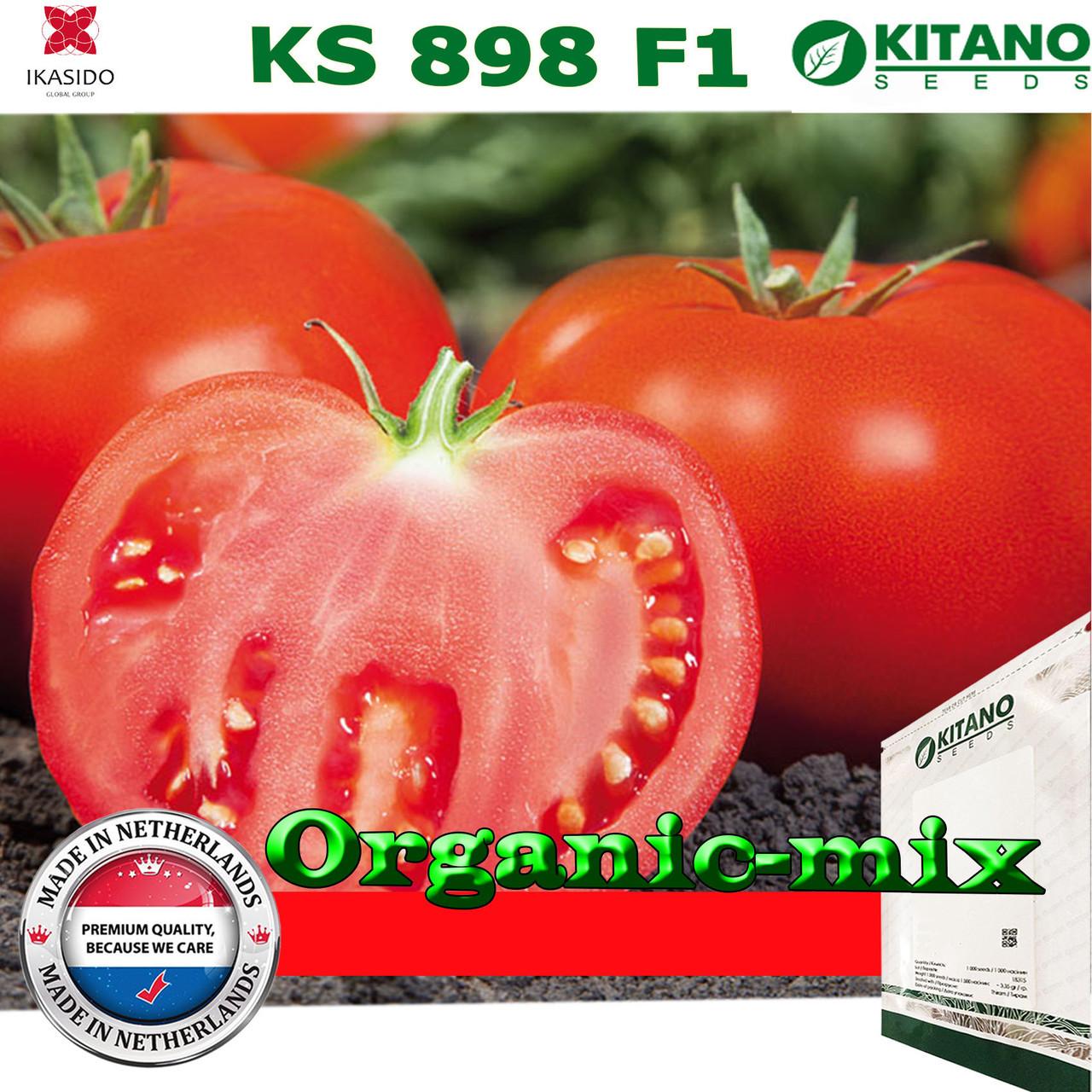 Семена, томат KS 898 F1, 1000 семян, крупноплодный, ТМ Kitano Seeds
