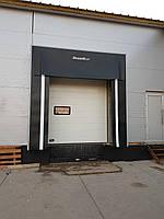Секционные промышленные ворота с окном DoorHan ш3000мм, в3500мм, фото 2