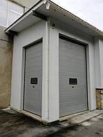 Секционные промышленные ворота с окном DoorHan ш3000мм, в3500мм, фото 3