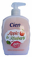 Cien жидкое мыло (500 мл) Apple & Rhubarb