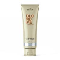 Шампунь для холодных оттенков волос Schwarzkopf Blondme Color Enhancing Blonde Shampoo Cool Ice