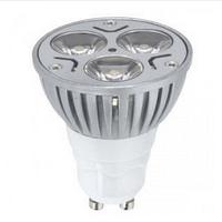 GU10_4W_ 2700 (тёплый белый).  Hi Power Led Lamp bulb. Светодиодные лампы Realux (Реалюкс)