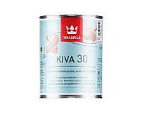 Лак акриловый TIKKURILA KIVA 30 мебельный полуматовый 0,9л