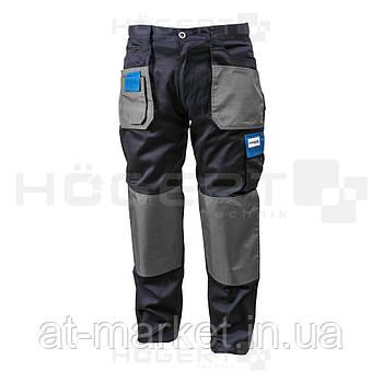 Рабочие брюки темно-синие, размер L HOEGERT HT5K275-L