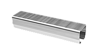 Направляющий профиль для легких ворот до 400 кг(1м)