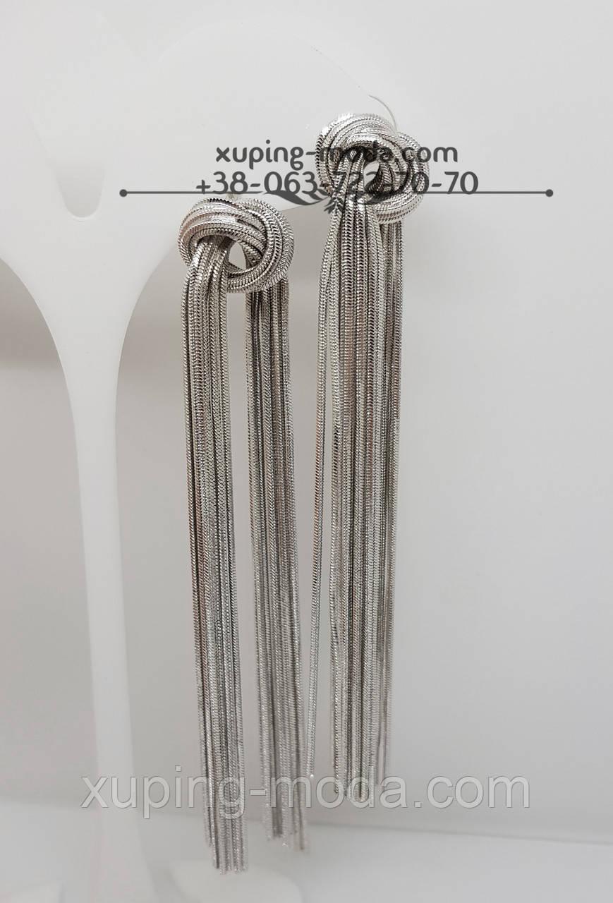 Узелки серьги. Модные серьги недорого