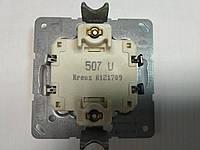 Выключатель одноклавишный перекрёстный (промежуточный) Jung 507U механизм
