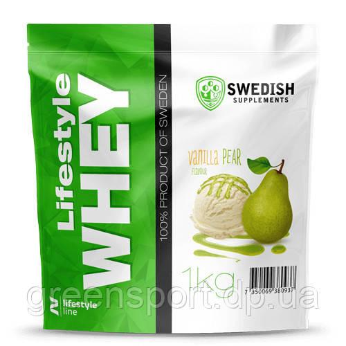 Протеин Swedish Lifestyle Whey (1.0 кг) Ванильная груша