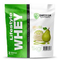 Протеин Swedish Lifestyle Whey 1.0 кг Ванильная груша