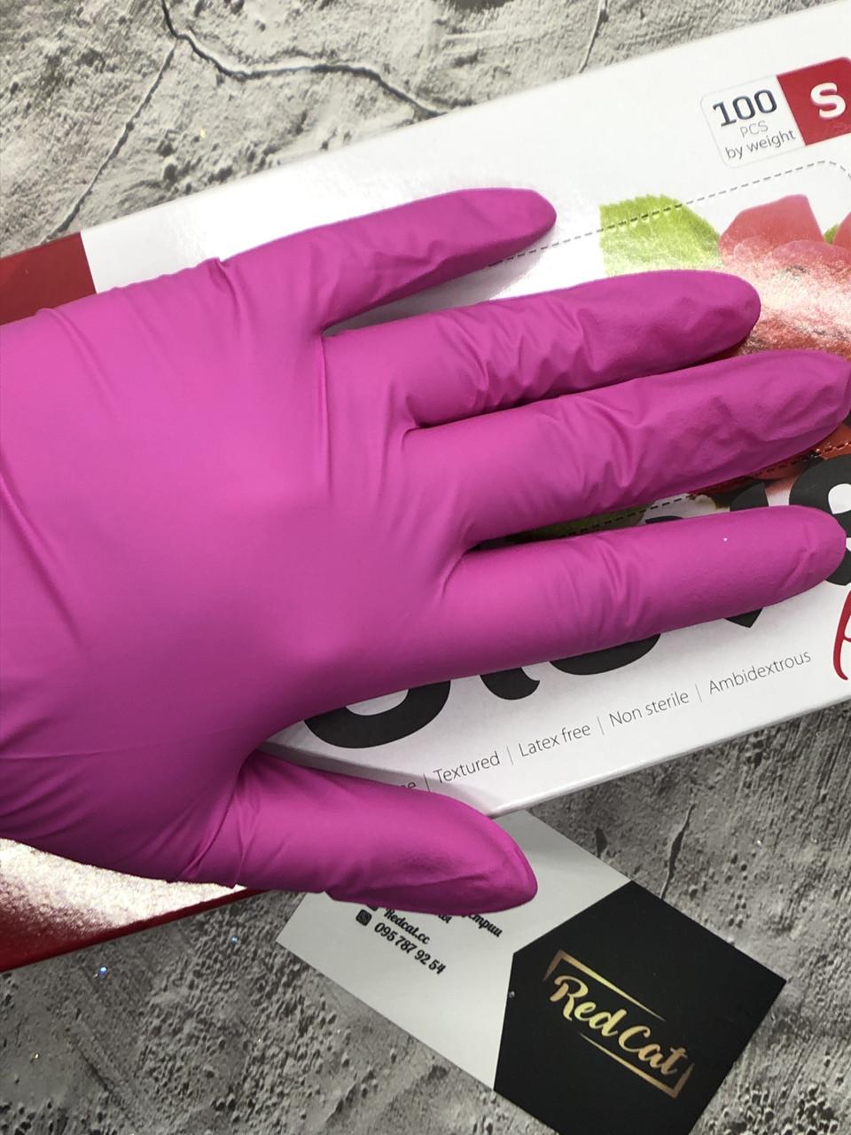 Перчатки нитриловые Fiomex Pink Begreat