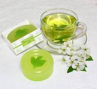 """Подарочное мыло ручной работы """"Зеленый чай"""""""