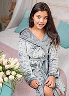 Халат подростковый Eirena Nadine (64-529) рост 164 Silver