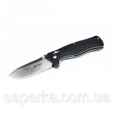 Нож складной Ganzo G720, черный, фото 2