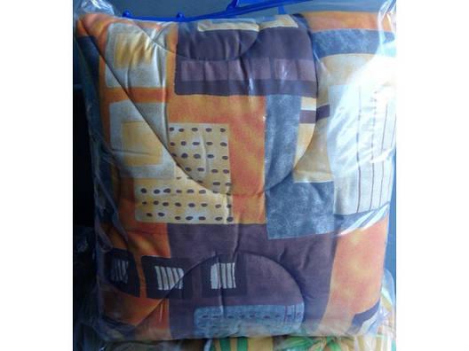 Зимнее стеганное одеяло овчина двухспальное, фото 2