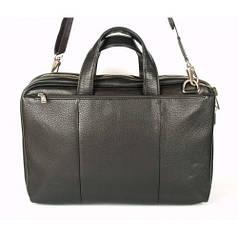 Мужская сумка кожаная inbag 14098 Черная (2140981)
