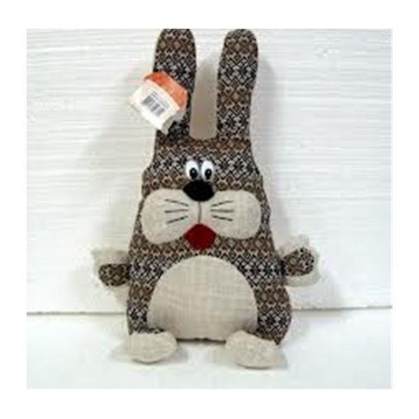 Мягкая игрушка подушка-зайчик