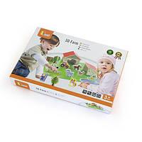 """Игровой набор Viga Toys """"Ферма"""", 30 элементов (50540)"""