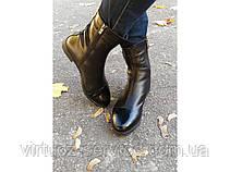 Сапоги женские Gino Figini Б-107-02 из натуральной кожи 37 Черный, фото 3