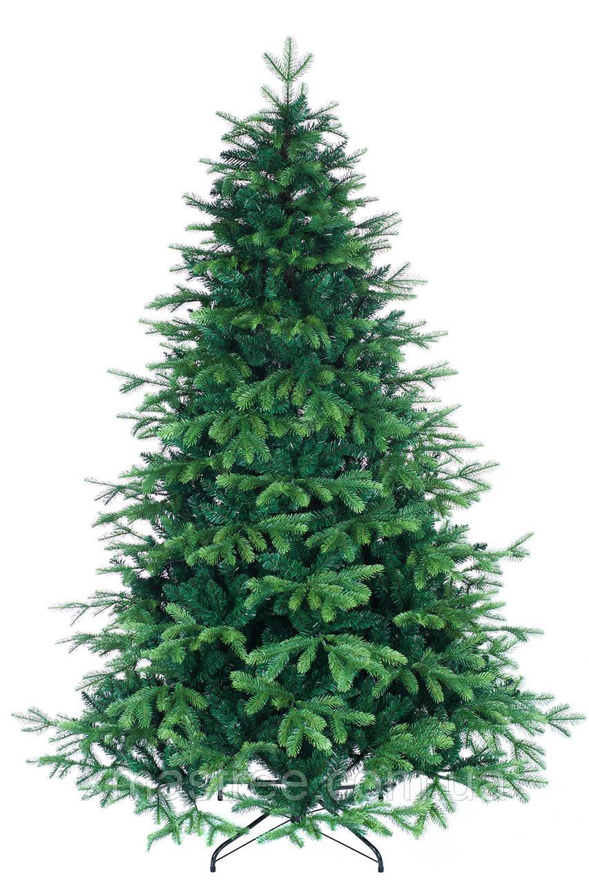 Искусственная елка литая Грация 210 комби