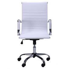 Крісло Slim LB (XH-632B) білий, фото 3