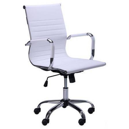 Крісло Slim LB (XH-632B) білий, фото 2
