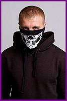 Бафф FDR Skull Black | Балаклава, маска | Хэллоуин