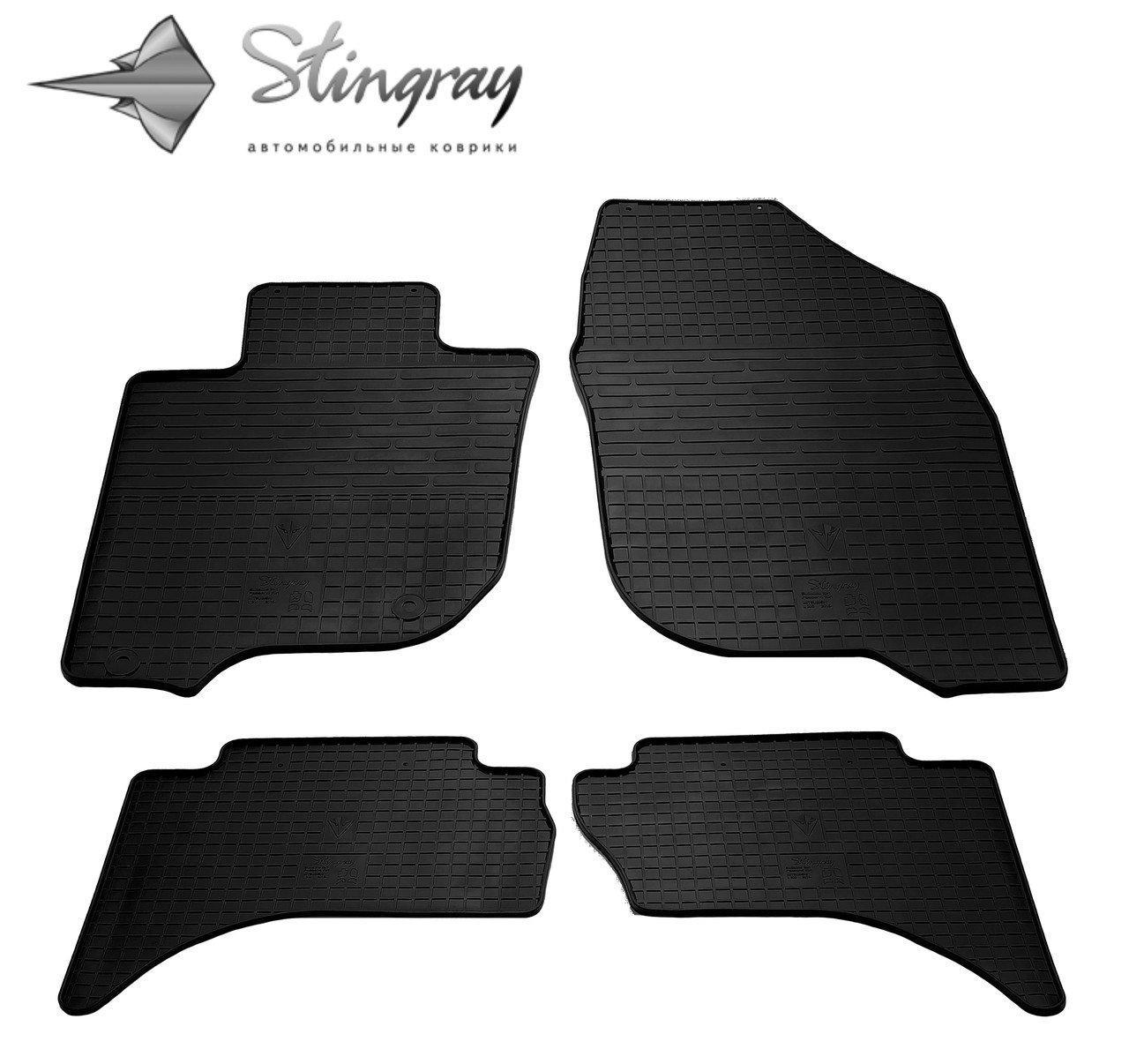 Коврики автомобильные Fiat Fullback 2016- Комплект из 4-х ковриков Stingray