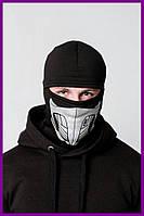 Балаклава FDR Scorpion Black | Бафф, маска | Хэллоуин