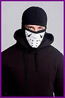 Балаклава FDR Jason Black | Бафф, маска | Хэллоуин
