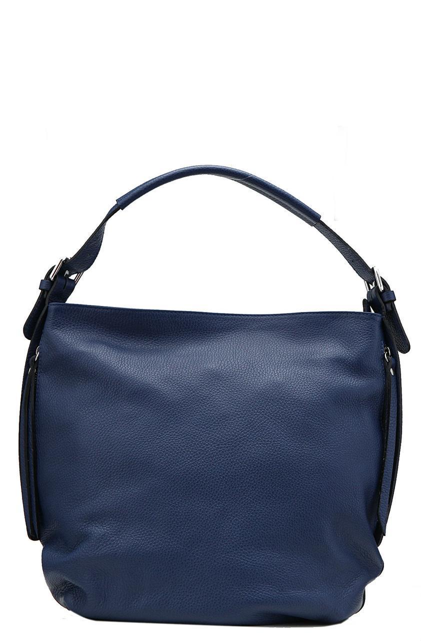 Кожаная женская сумка ELVIRA Diva's Bag цвет темно-синий