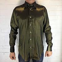 Рубашка мужская болотная