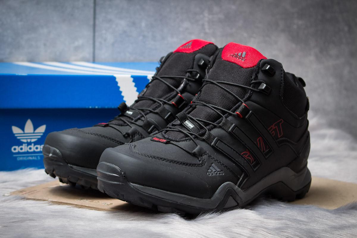 Зимние ботинки  на мехуAdidas Terrex Gore Tex, черные (30514) размеры в наличии ►(нет на складе)