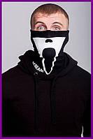 Бафф FDR Scream Black | Балаклава, маска | Хэллоуин