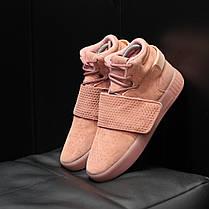 """Кроссовки Adidas Tubular """"Розовые"""", фото 3"""