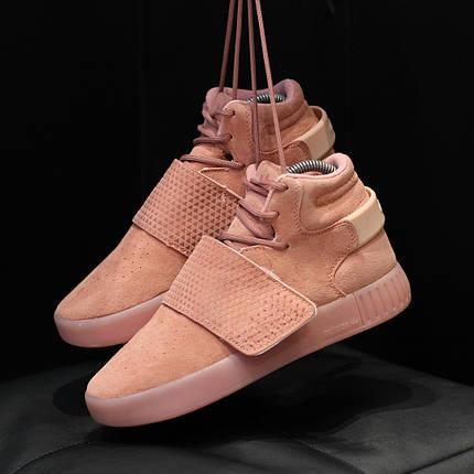 """Кроссовки Adidas Tubular """"Розовые"""", фото 2"""