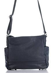 Брендова жіночий кожанаясумка SHERRY diva's Bag колір синій