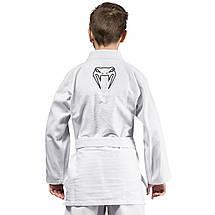 Детское кимоно для джиу-джитсу Venum Contender Kids BJJ Gi White, фото 2