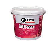 Клей дисперсионный QUELYD MURALE для стеклохолста и стеклообоев, 5кг