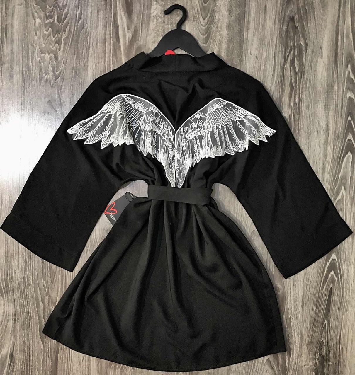 Халат-кимоно Angel , домашняя женская одежда.