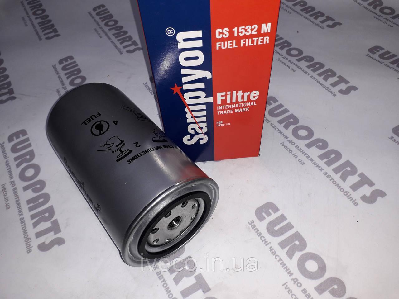 Фильтр топливный Iveco Eurocargo Eurostar Eurotech Ивеко 1908547 1907539 1930992 1931061 500038754  KC186